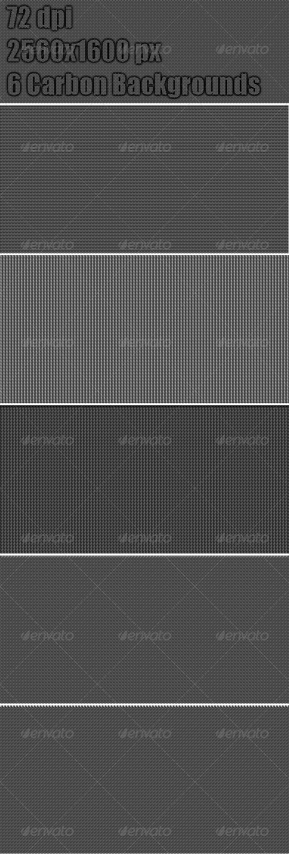 6 Carbon Web Backgrounds  #GraphicRiver         Backgrounds: 6  	 Resolution: 2560×1600  	 DPI : 72  	 Format: Ready-made JPG files     Created: 11April12 GraphicsFilesIncluded: JPGImage Layered: No PixelDimensions: 2560x1600 Tags: background #black #carbon #carbonwebbackgrounds #crisp #dark #fiber #graphic #graphicdesign #grey #grunge #minimal #modern #pattern #pixel #print #professional #subtle #techno #texture #vintage #web