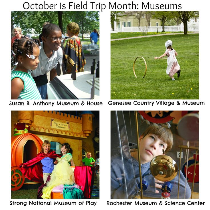 October is field trip month. Rochester and the Finger Lakes are full of hands-on learning experiences that kids of all ages will enjoy. #familyfun #Fieldtrip