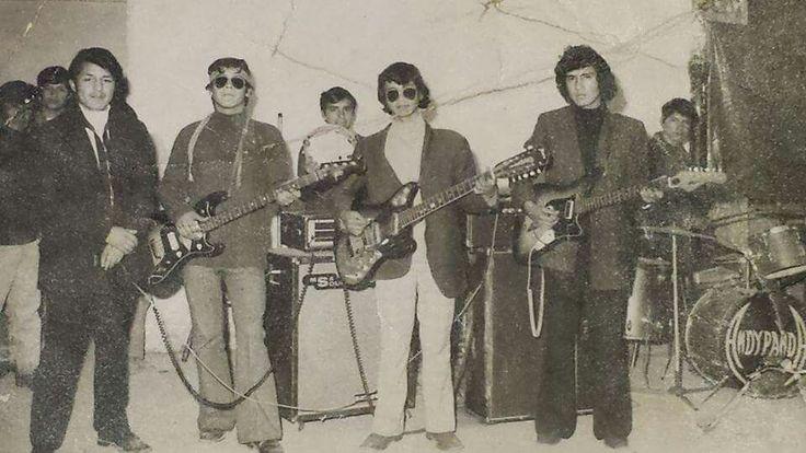 Grupo Andi Panda la Nueva ola rn Perú Huancayo 1972 integrantes Ruben Hurtado Castillo (bajo)y Walter Hurtado Castillo(1ra guitarra)