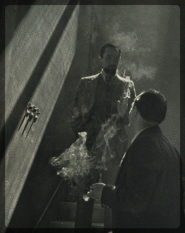 Ferrara Emidio - Scherzi del fumo - Märzlicht 13 Uhr - um 1940