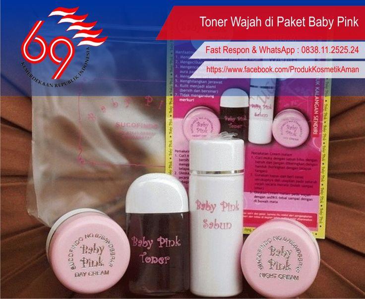 ----- .:: [ Toner Wajah di Paket Baby Pink ] ::. -----  Baby pink sebagai salah satu kosmetik yang banyak dikenal, memberikan fasilitas yang lengkap dalam paket pembelian. Dalam 1 paket baby pink terdiri atas :   Selengkapnya : http://goo.gl/IaBzlb