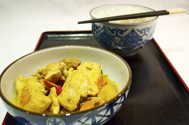 Un viaggio in Asia, con il pollo ala curcuma