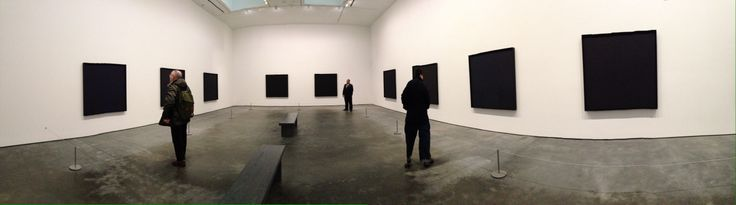 Ad Reinhardt paintings at David Zwirner Gallery, Dec 2013, NYC