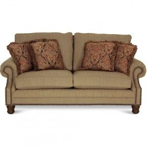 GALS Fawn Linen/Mayo Austin Taupe Loveseat | Gallery Furniture | Gallery  Furniture   Houston