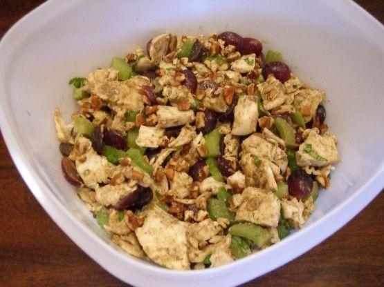 Balsamic Vinaigrette Chicken Salad