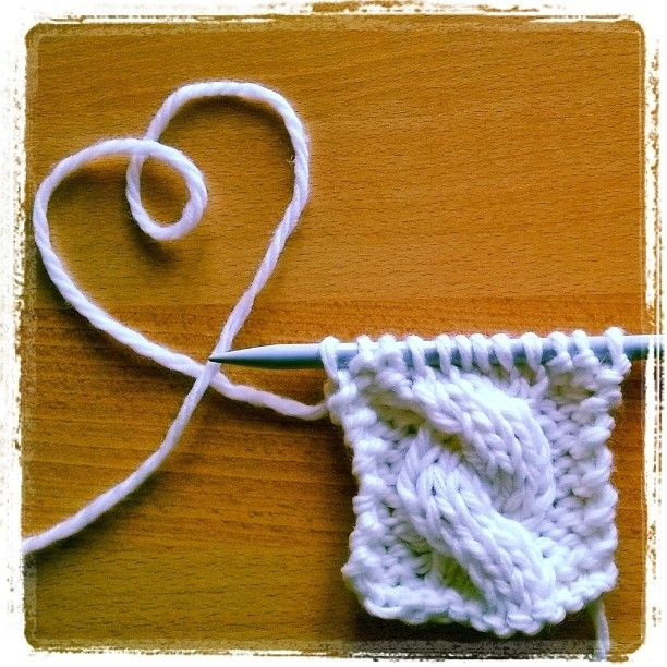 Love Knit- Love handmade Twisted Stitch Knitting Tutorial