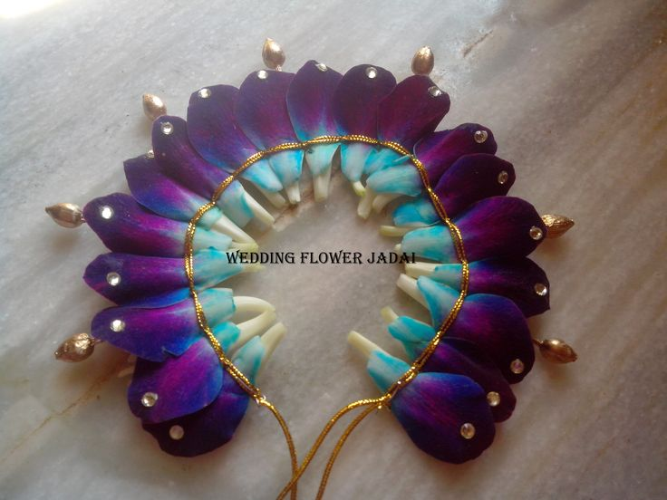 creative work with flowers