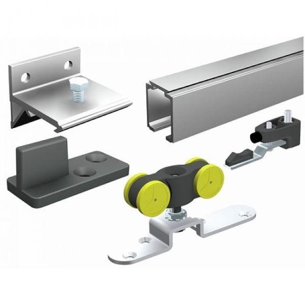 best 25 rail pour porte coulissante ideas on pinterest. Black Bedroom Furniture Sets. Home Design Ideas