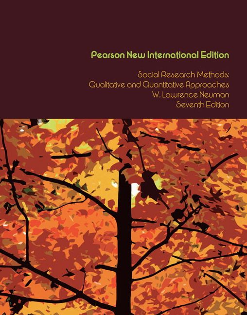Neuman, WL. 2014. Social Research Methods: Qualitative and Quantitative Approaches, seventh edition. Essex: Pearson Education Limited.