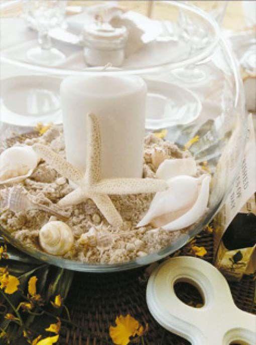 diy teal beach wedding decor | beach-wedding-table-decorations - beach-wedding-table-decorations