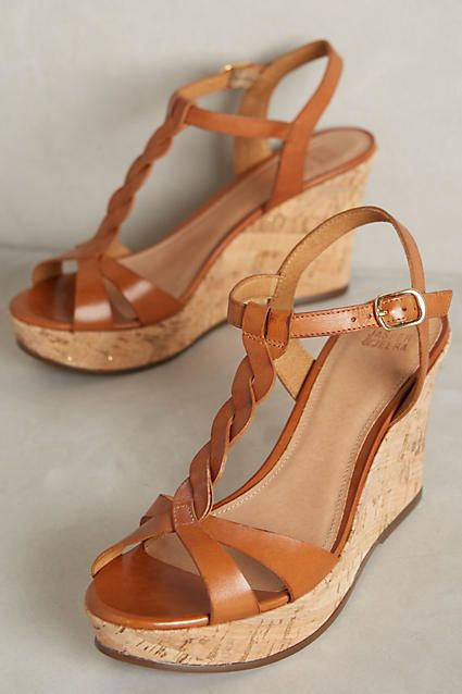 Jasper & Jeera Paulo Wedges - anthropologie.com