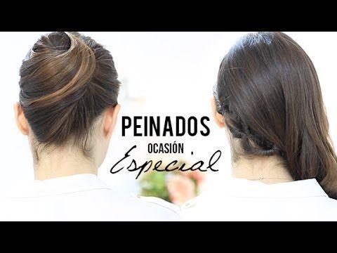 Peinados para una ocasión especial - YouTube