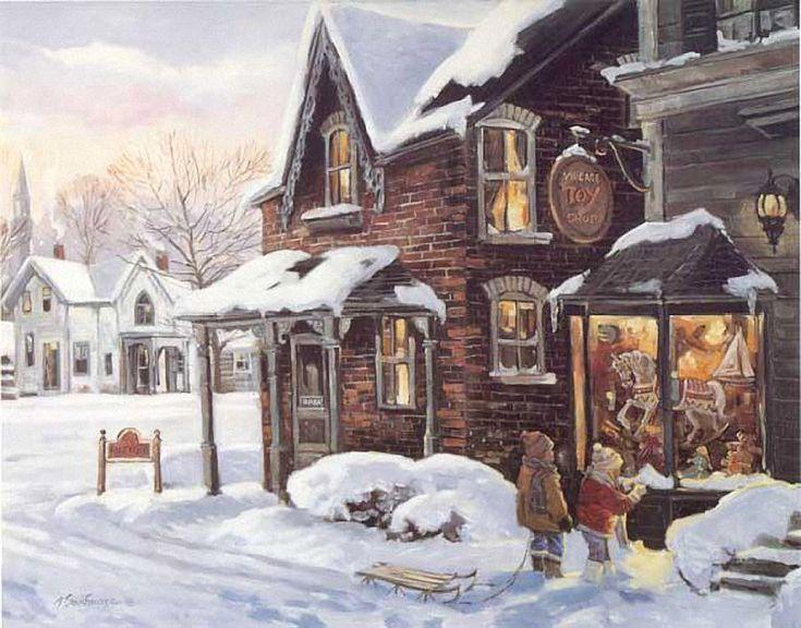The Toy Store ~ Alan Sakharvarz Art