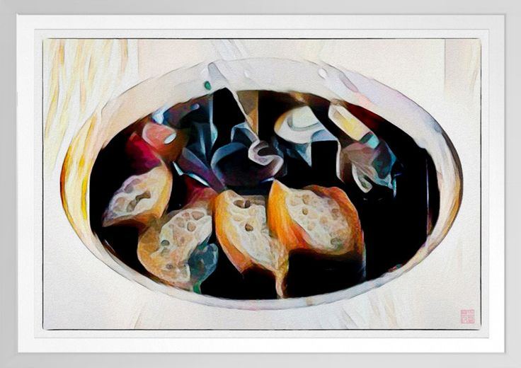 Kuay Chap - Watercolour Print Original food art by Roger Smith. A classic Singapore dish - Kuay Chap. Reproduced on Archival Heavyweight Paper https://www.zazzle.com/kuay_chap_watercolour_print-228660670388509922 #Singapore #food #art #RogerSmith