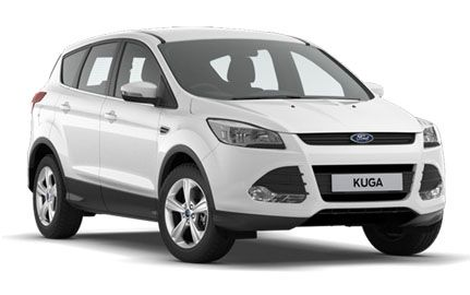"Personal Contract Hire - Ford Kuga Diesel Estate - 2.0 TDCi Zetec 5Dr 2WD. from ONLY £296.27 inc VAT monthly. 10,000 miles per annum allowance, Appearance Pack, Special Solid Paint - Frozen White, 17"" 5 Spoke Alloys, DAB radio/CD and Ford SYNC Bluetooth connection with voice control. CO2 emissions - 139g/km"