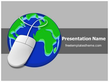 17 best computer and internet free powerpoint ppt templates images, Presentation templates