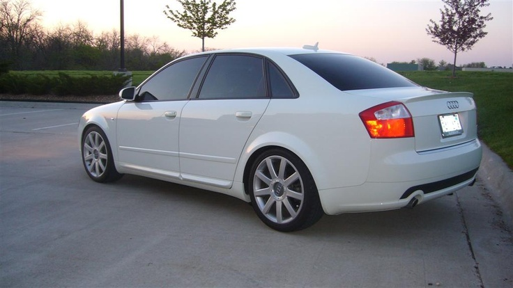 2005 audi A4 1.8t Arctic White Ultrasport    Wanted, now got!