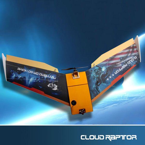Nube Raptor 1000mm de ala de vuelo de ala EPP FPV Racing RC Avión Kit