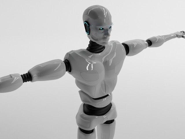 Character 3D Models | Robot Man | AlexRazum - 3D Squirrel