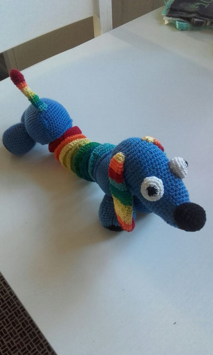 Regnbuehunden Slinky