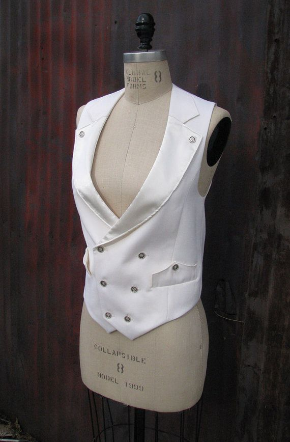 Women's White Vest And Pant
