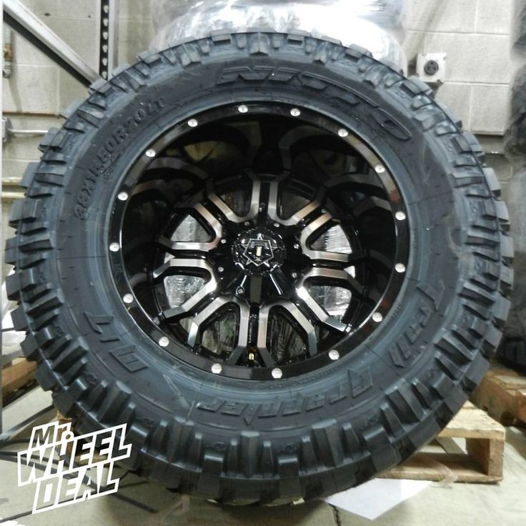 20x12 u0026quot  tis 535mb gloss black machined wheels with 38x15 50x20 nitto trail grappler tires   2939
