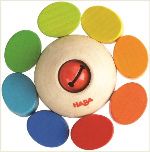 Haba Wooden Baby Clutch Toy Whirligig