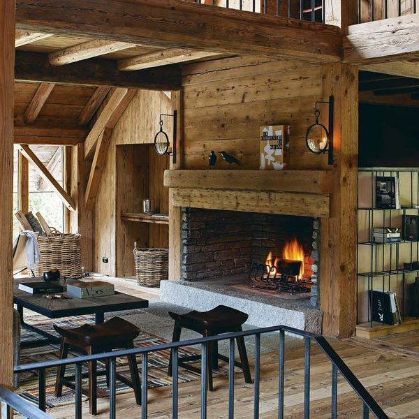 218 best images about mountain chalet on pinterest for Decoration interieur chalet montagne