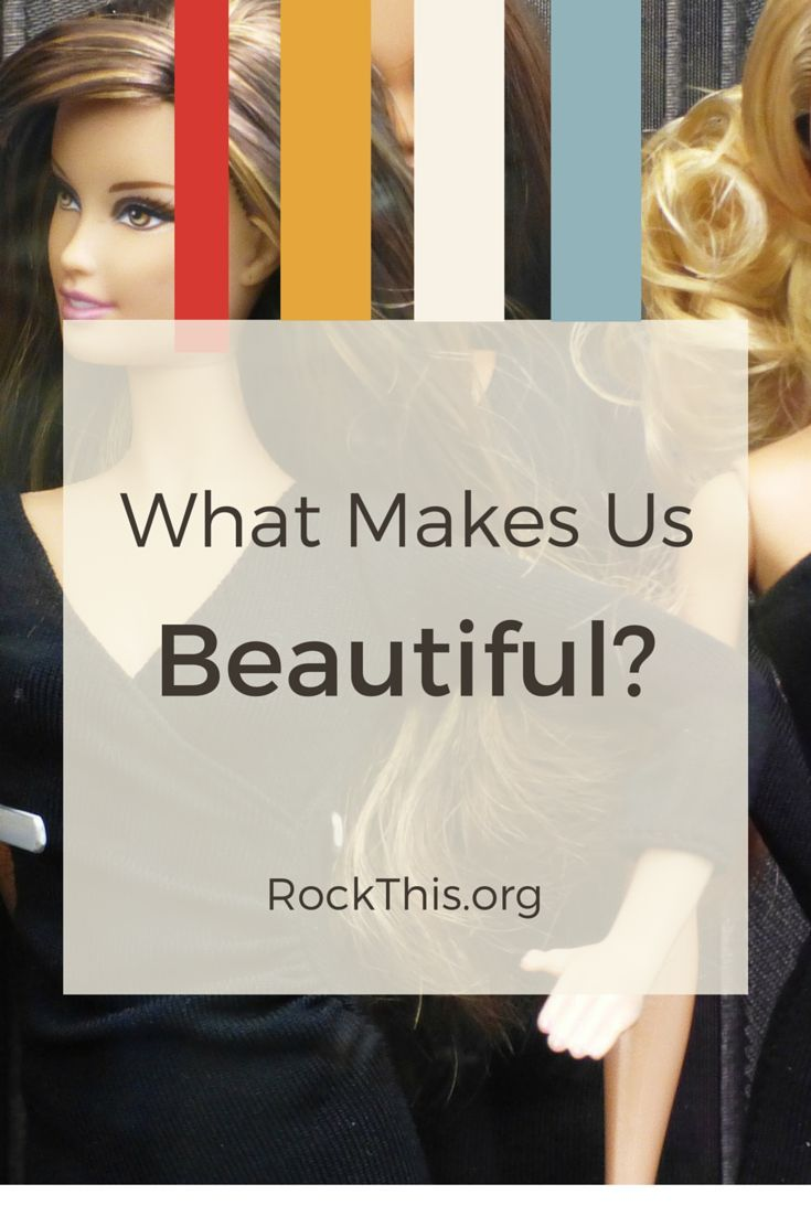 """Every day we are INUNDATED with the world's view of beauty.  What a refreshing read on God's standard of beauty.  """"Perhaps in the frantic attempt to repair our badly broken standards of beauty, we'll finally succeed in accurately identifying the problem.  That being: The only one who has the right to define beauty is the God who created it."""""""
