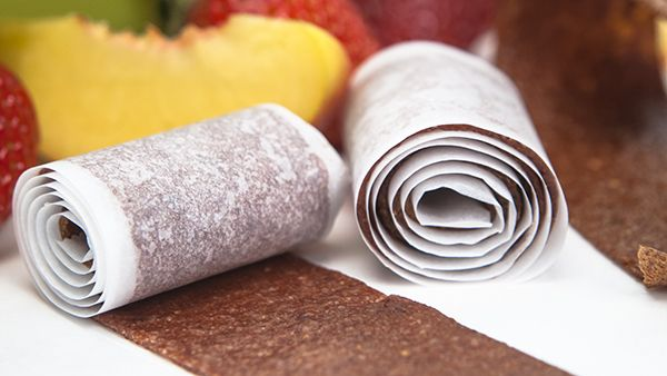 Peach and Strawberry Fruit Leather Recipe - Blendtec Recipes