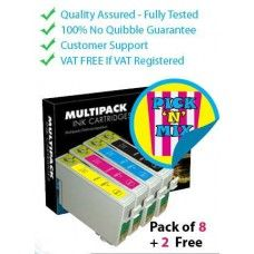 Printer Ink Cartridges bring you the best and unique experience to shop online in Ireland. Make us your one-stop-shop when you're looking for the best and exciting deals on ink and #TonerCartridges for your #Epson Stylus S/SX series printers. We offer high quality compatible ink with Multipack deals. These #InkCartridge bundle deals will usually consist of four colours; Black, Cyan, Magenta and Yellow, and available with very low prices when you buy as a full set.