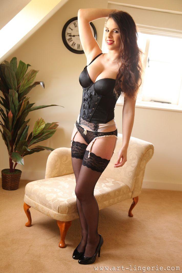 Stockings Art garters lingerie