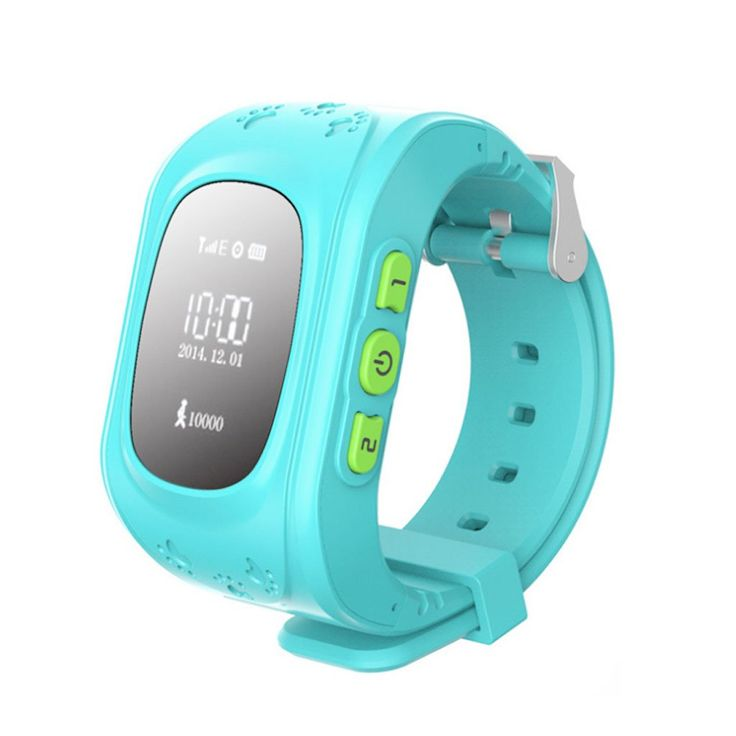 Q50 Kids Children Gift Cute Blue Smart Watch Band GPS/GPRS/Bluetooth Tracker Locater Real-time Monitor GSM Phone SOS Call. Interphone + voice message + Watch + Tracker + Emergency Alarm + Real-time monitoriing. Support GPS/GPRS/Bluetooth, Know your kid at any time and place throught your phone. Dual-way call and Intercom , Make communication more smoothly. GPRS Real-time monitoring of child dynamics, with Emergency Alarm. Multifunction for more conditions, Anti shedding alarm, Watch...