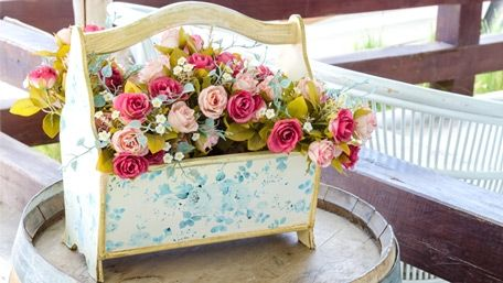 корзина для газет или цветов