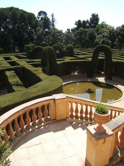 Parc del Laberint d'Horta / Horta Labyrinth. Barcelona, Catalonia