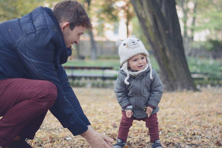 tata z synem, sesja jesienna MelonoweLove