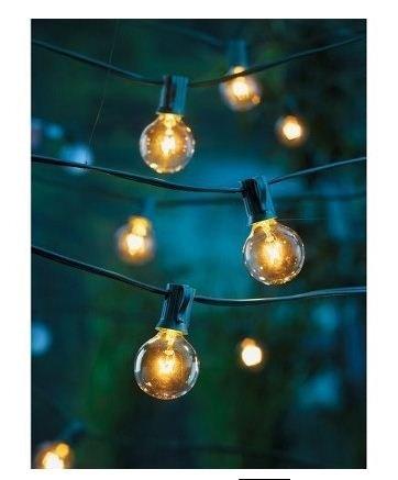 Clear Globe String Lights Set of 25 G40 Bulbs Indoor / Outdoor by Sival, http://www.amazon.com/dp/B000R3KGP4/ref=cm_sw_r_pi_dp_JB55pb0QB39SN