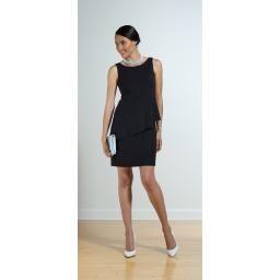 Sophie, Reversible 2-Layer Dress, black, XL : P'LOVERS