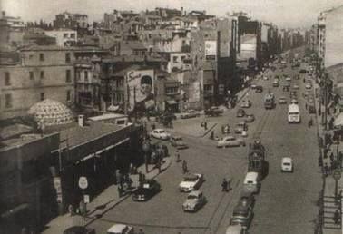 Pangaltı Hamamı Ve Eski Tan Sineması Önü , Harika Bir Anı Resim ; Şimdiki Ramada Oteli Önü Aynı Zamanda ..
