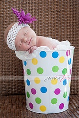 Baby polka dots