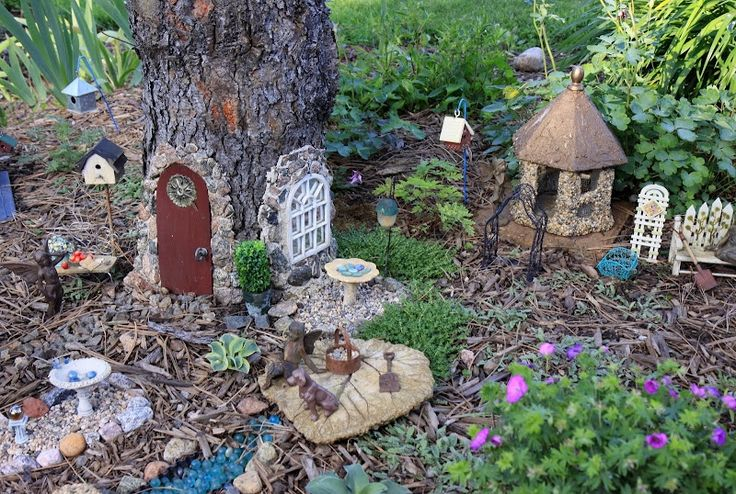 Make an entire fairy village