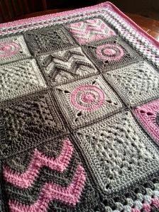 Modern Patchwork Blanket