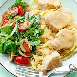 Kurczak w sosie parmezanowym | Kwestia Smaku