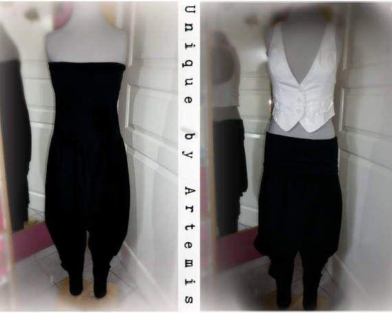 handmade overall harem pants