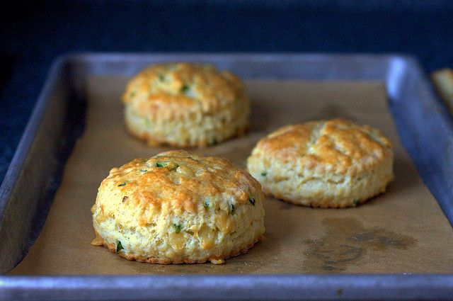 Jalapeno cheddar scones (Smitten Kitchen). I think it needs more spice, but overall very good.