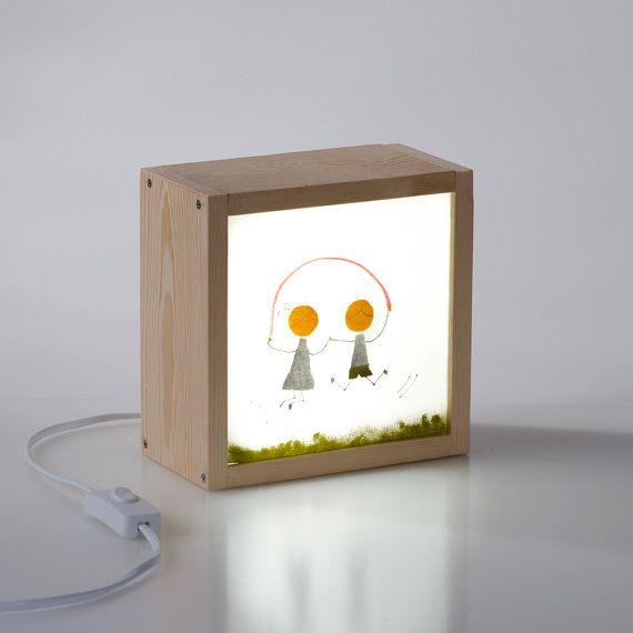 kit caja de luz nios saltando la comba por kitkasa crea y personaliza tu propia