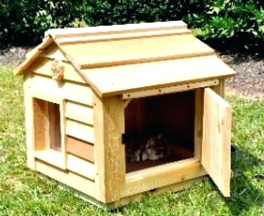 How To Build An Outdoor Cat House Heated Cat Houses For Outside Heated Outdoor Cat House Large Outdoor Cat House Outdoor Cat House Cat House Outside Cat House