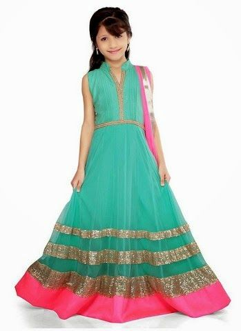 SOME LATEST BEAUTIFUL BABY FROCKS FOR THE YEAR 2014 (9)