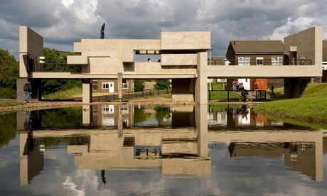 The Apollo Pavilion in Peterlee, County Durham