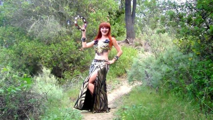 Bellydance with tambourine - Sofia Metal Queen - American Gypsy